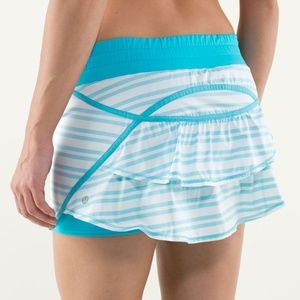 lululemon ∙ run track attack skirt